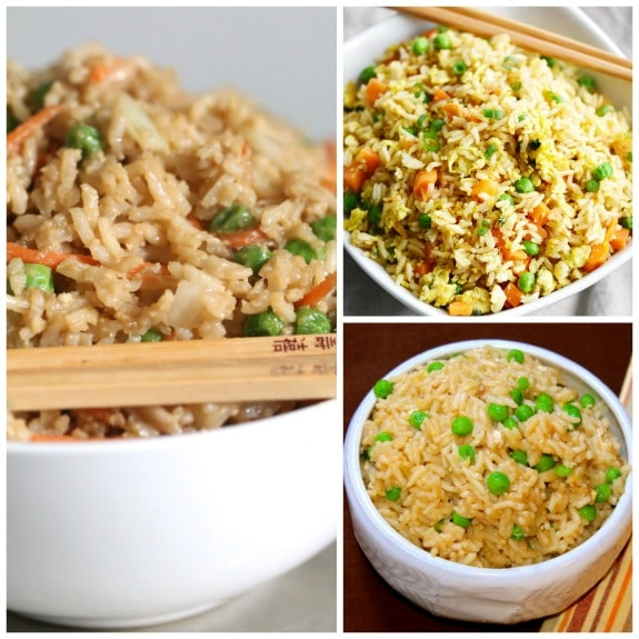 The BEST Instant Pot Fried Rice found on Slow Cooker or Pressure Cooker at SlowCookerFromScratch.com