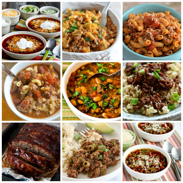 The BEST Instant Pot Dinners with Ground Beef