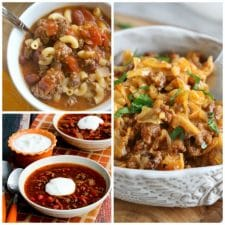 The BEST Instant Pot Dinners with Ground Beef featured on Slow Cooker Or Pressure Cooker at SlowCookerFromScratch.com