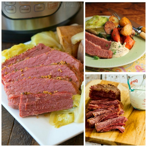 The BEST Instant Pot Corned Beef Recipes found on Slow Cooker or Pressure Cooker at SlowCookerFromScratch.com