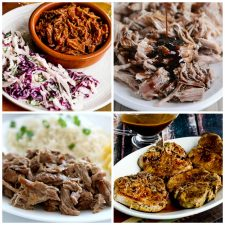 Instant Pot Dinners With Pork top photo collage