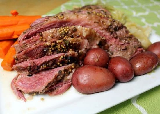 The BEST Instant Pot Corned Beef Recipes featured on Slow Cooker or Pressure Cooker at SlowCookerFromScratch.com