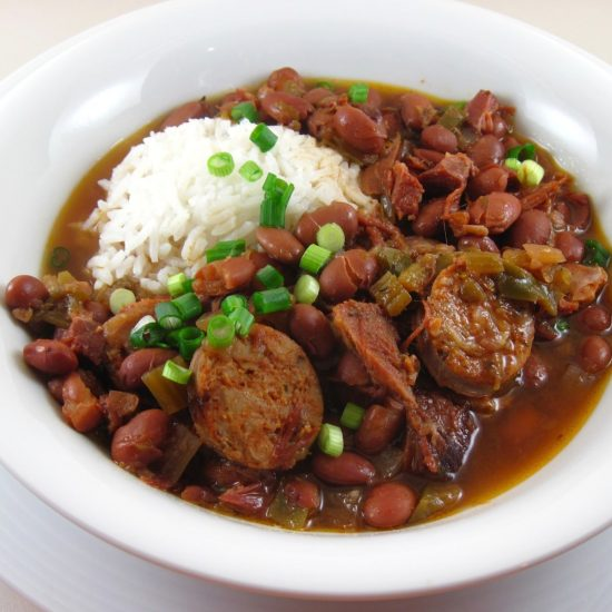 Red Beans and Rice from In the Kitchen with Kath