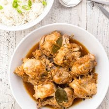 Pressure Cooker Chicken Adobo from Simply Recipes featured on Slow Cooker or Pressure Cooker at PressureCookerFromScratch.com