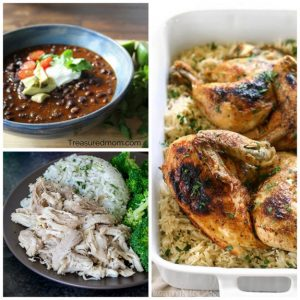 The BEST 5 Ingredient or Less Instant Pot Recipes featured on Slow Cooker or Pressure Cooker at SlowCookerFromScratch.com