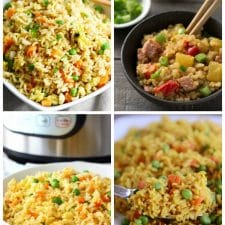 The Best Instant Pot Fried Rice Recipes featured on Slow Cooker or Pressure Cooker