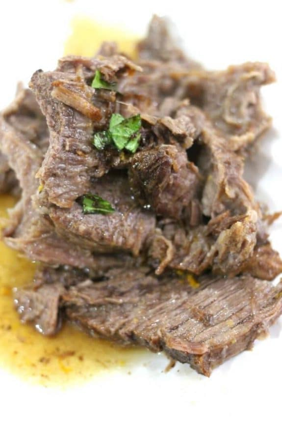 The BEST Instant Pot or Slow Cooker Roast Beef Dinners featured on Slow Cooker or Pressure Cooker at SlowCookerFromScratch.com