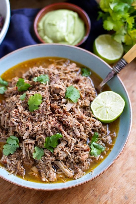 Barbacoa Instant Pot Pulled Pork from Instant Pot Eats