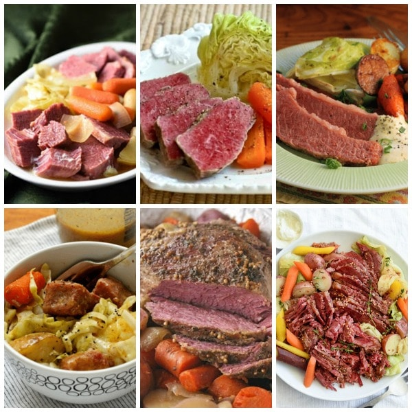 The BEST Slow Cooker Corned Beef found on Slow Cooker or Pressure Cooker