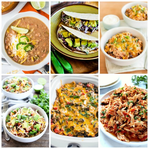 The BEST Slow Cooker Mexican Food Recipes found on Slow Cooker or Pressure Cooker