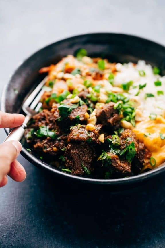 The BEST Instant Pot Korean Beef Recipes featured on Slow Cooker or Pressure Cooker at SlowCookerFromScratch.com