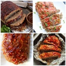 Instant Pot Meatloaf Recipes (with Low-Carb Meatloaf Options) photo collage
