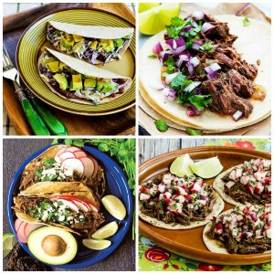 Amazing Slow Cooker and Instant Pot Beef Tacos top photo collage