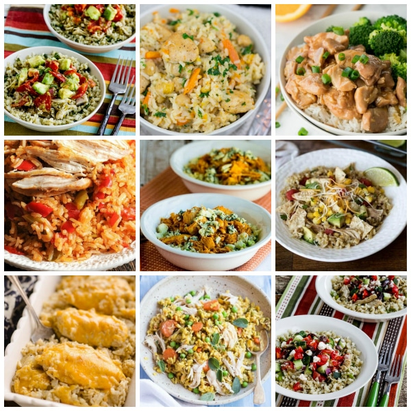 Instant Pot Chicken and Rice Recipes for Easy Family Dinners