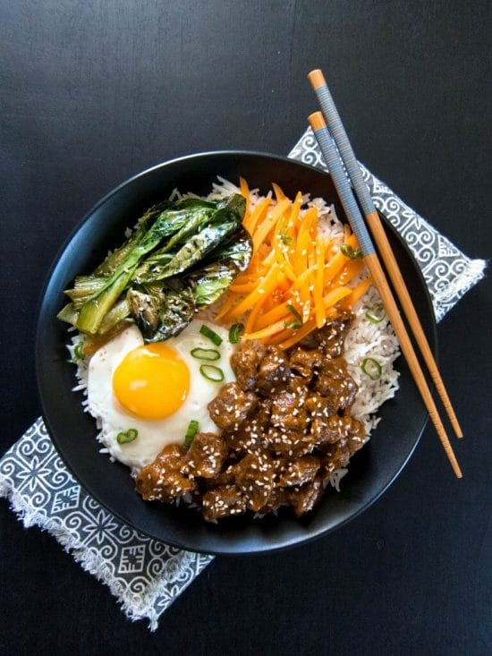 Instant Pot Korean Beef from Paint the Kitchen Red