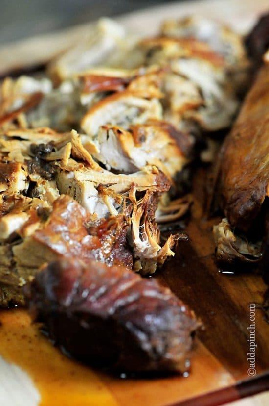 Slow Cooker Balsamic Pork Tenderloin from Add a Pinch