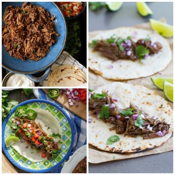 The BEST Instant Pot Barbacoa Beef Recipes found on Slow Cooker or Pressure Cooker at SlowCookerFromScratch.com