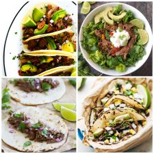 The BEST Instant Pot Barbacoa Beef Recipes top photo collage