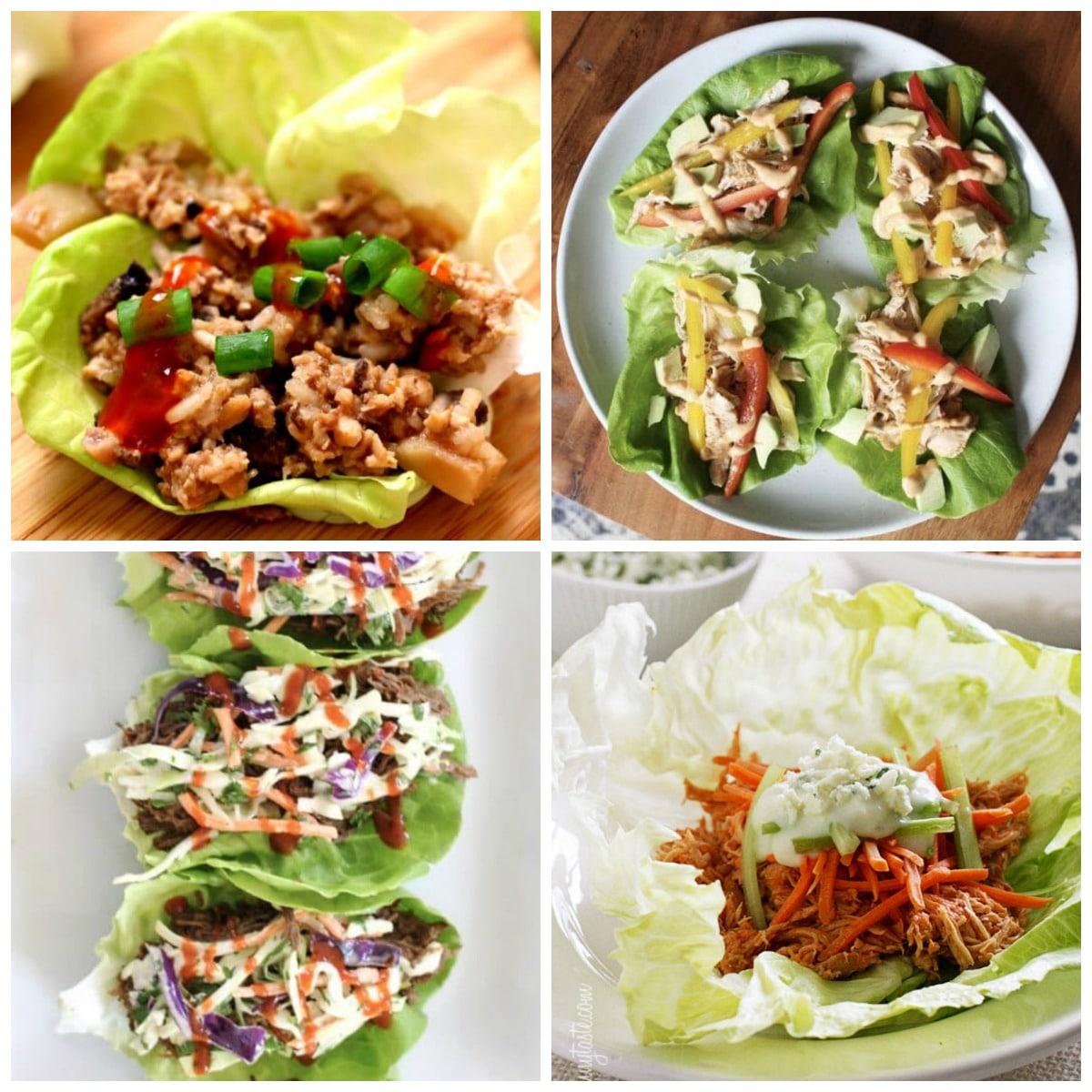 The BEST Instant Pot Lettuce Wraps