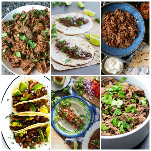 The BEST Instant Pot Barbacoa Beef Recipes