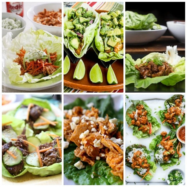 The BEST Instant Pot Lettuce Wraps Recipes found on Slow Cooker or Pressure Cooker