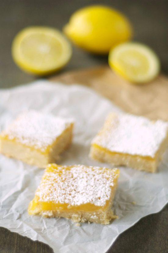 Slow Cooker Lemon Cookie Bars from Slow Cooker Gourmet