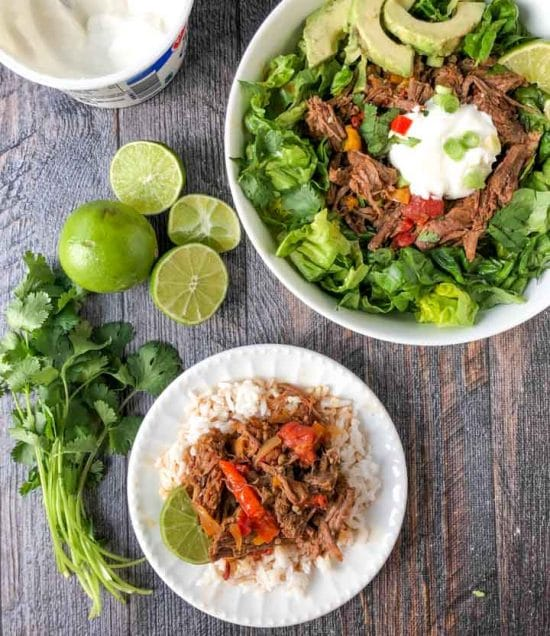 Spicy Barbacoa Beef Roast (Instant Pot) from My Life Cookbook