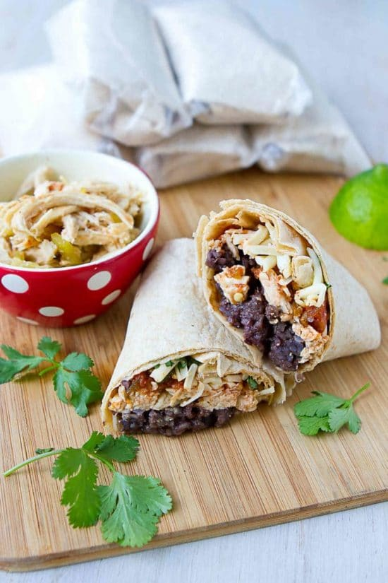 Freezer Burritos from Cookin' Canuck