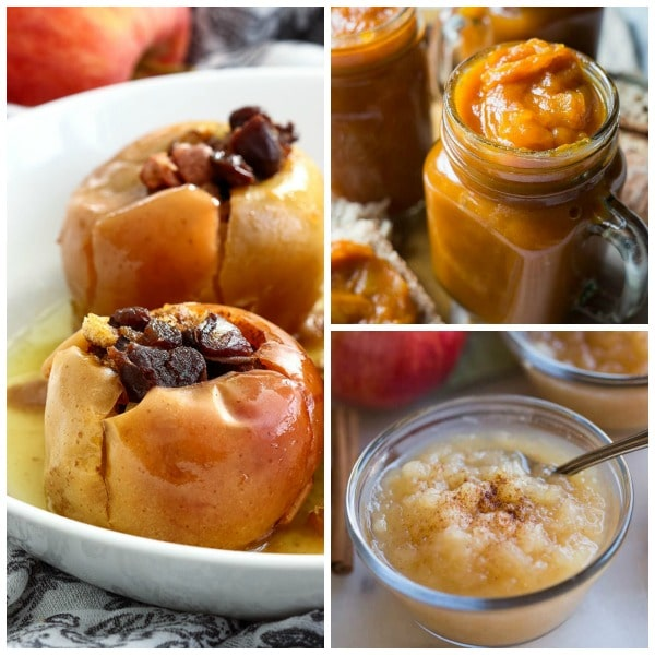 Ten Amazing Instant Pot Apple Recipes featured on Slow Cooker or Pressure Cooker at SlowCookerFromScratch.com