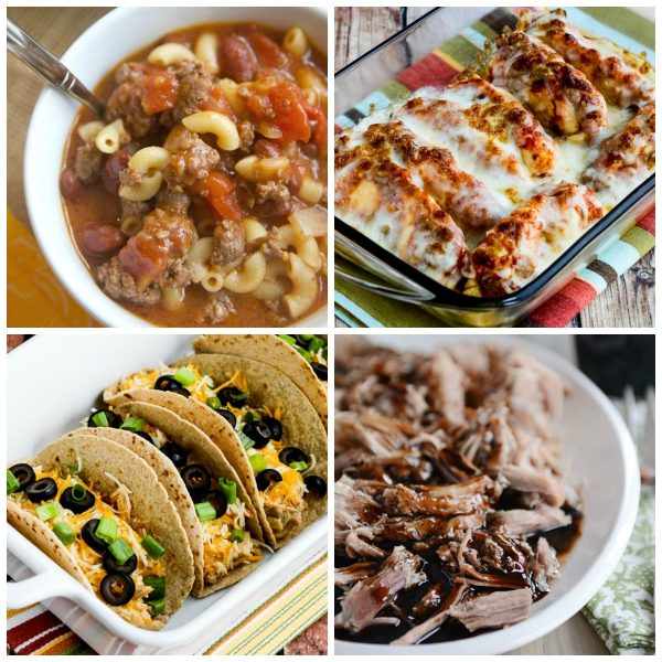 25 Kid-Friendly Instant Pot Dinners top photo collage