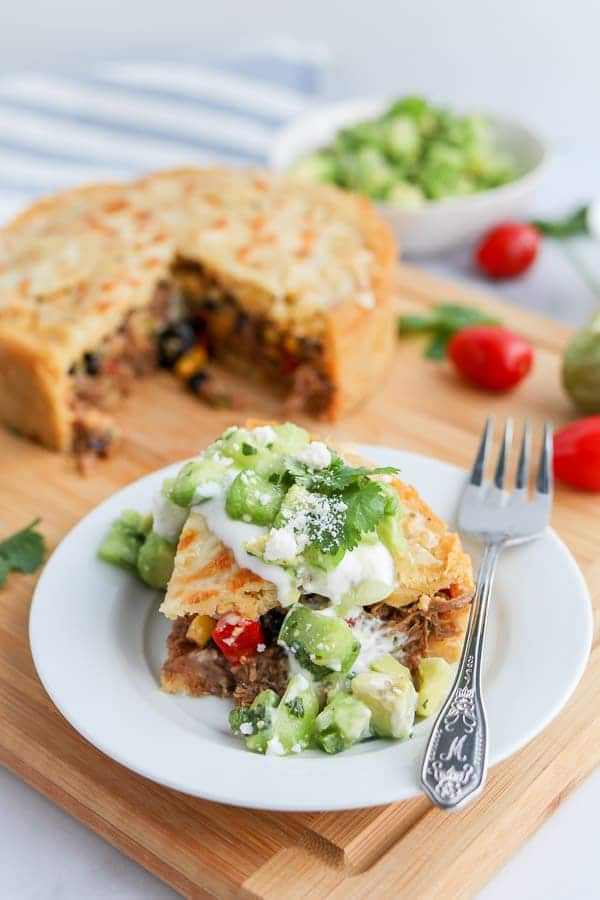 Instant Pot Easy Tamale Pie from Tidbits