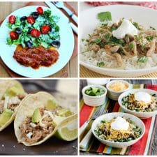 Four Recipes for Salsa Pork top photo collage