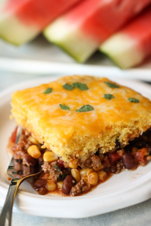 Slow Cooker Tamale Pie from Six Sisters' Stuff