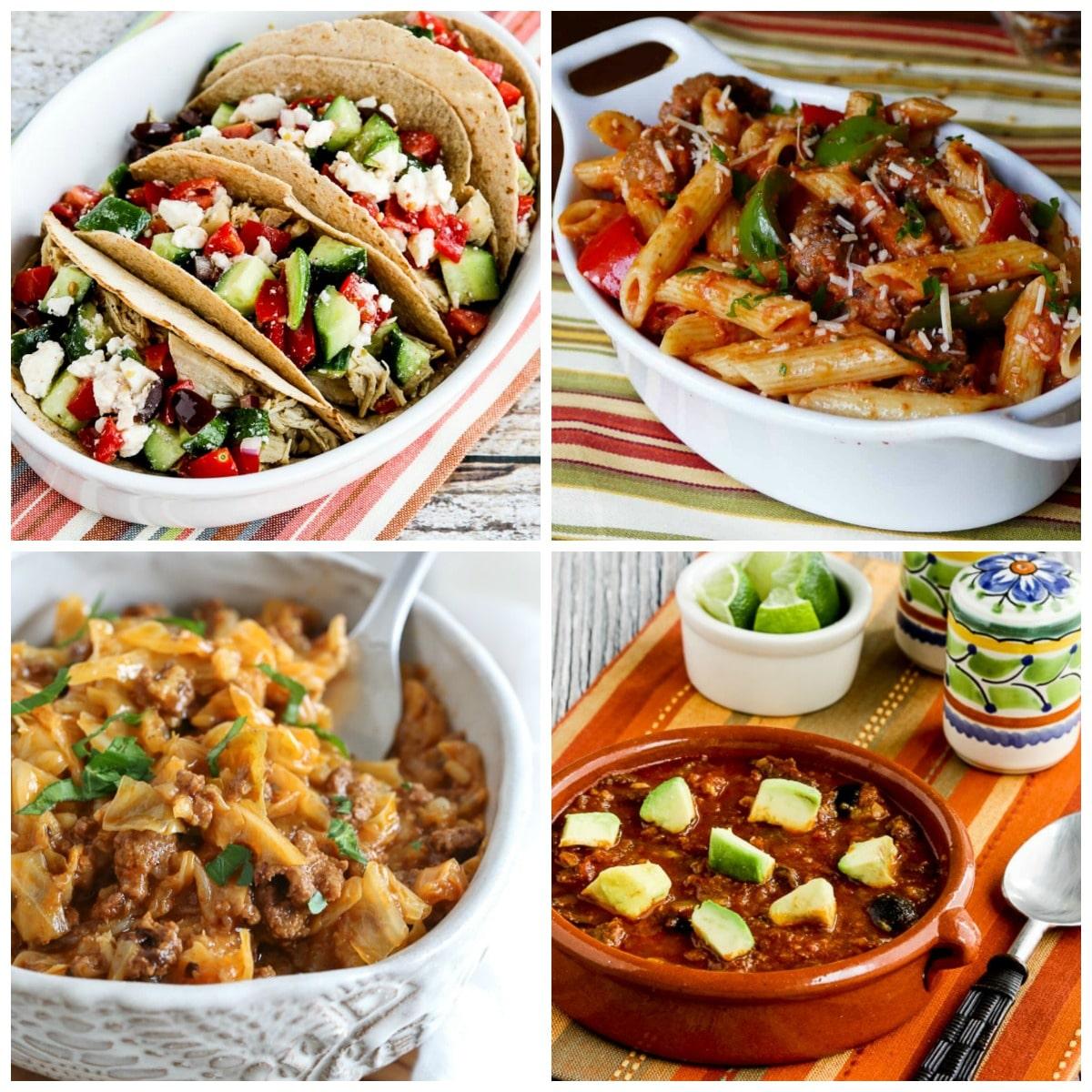 50 Amazing Instant Pot One-Pot Meals top collage photo