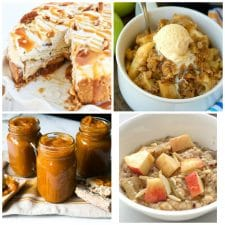 Instant Pot Apple Recipes top photo collage