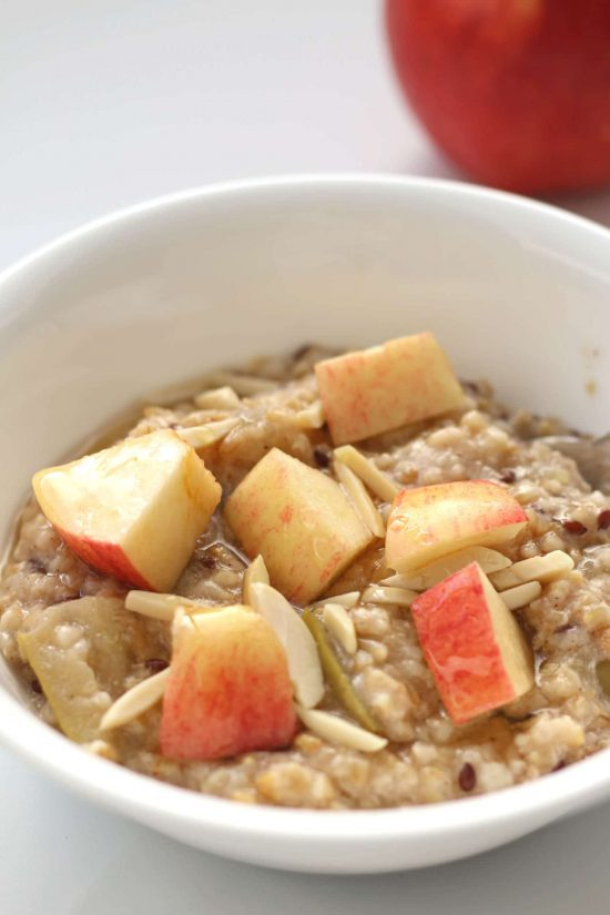 Instant Pot Apple Cinnamon Oatmeal from 365 Days of Slow + Pressure Cooking