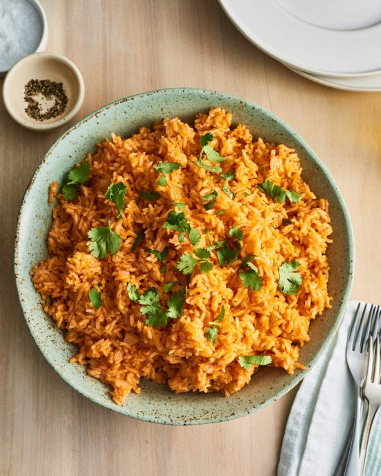 15 Minute Instant Pot Mexican Rice from the Kitchn