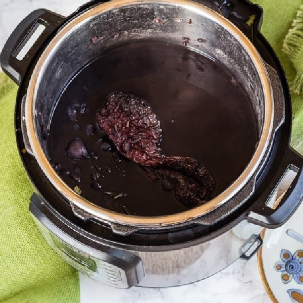 Instant Pot Black Beans from Letty's Kitchen