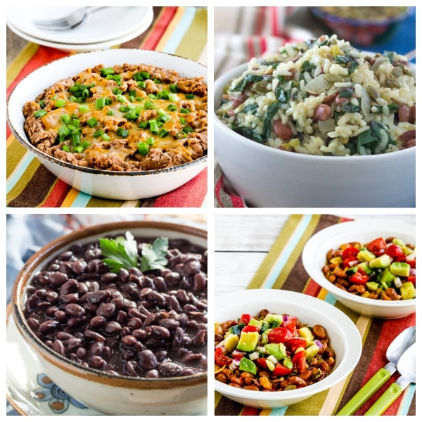 Slow Cooker or Instant Pot Beans collage photo