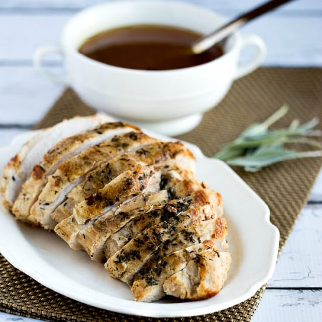 CrockPot or Instant Pot Turkey Breast from Kalyn's Kitchen