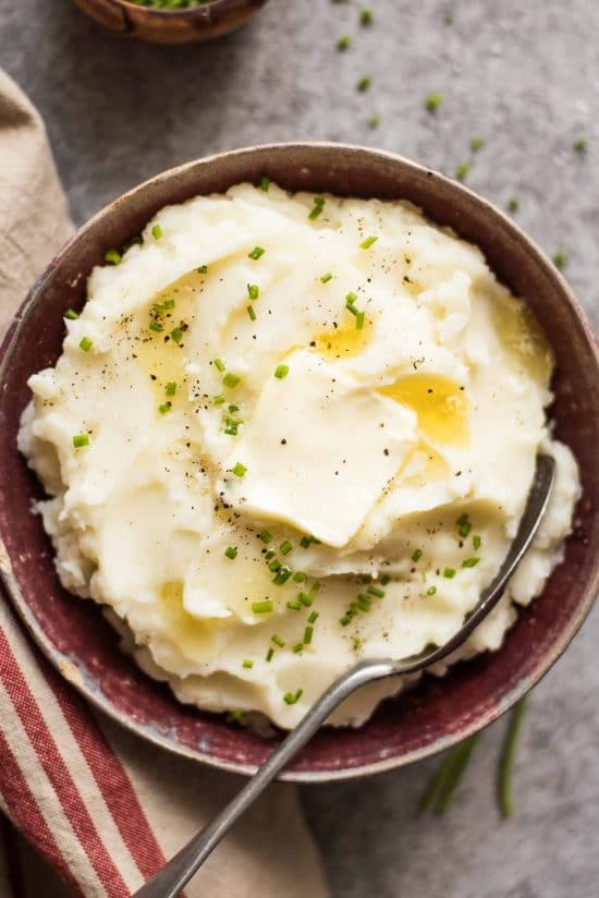 Slow Cooker Mashed Potatoes from Simply Recipes