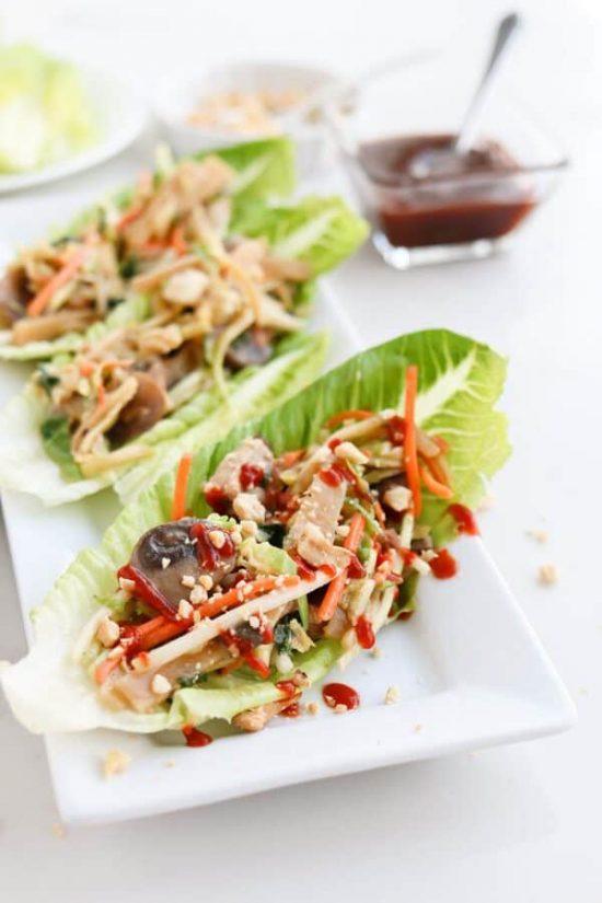 Pressure Cooker Easy Moo Shu Pork from Tidbits