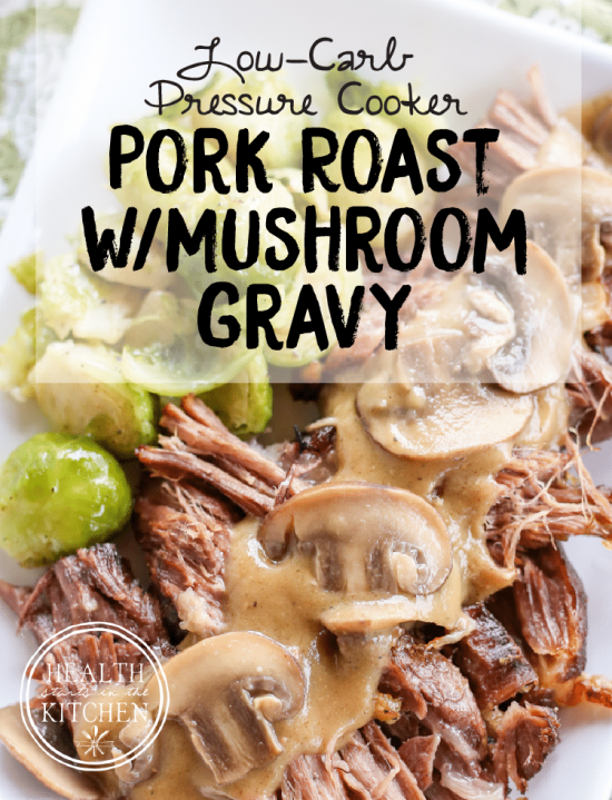 Low-Carb Instant Pot Dinners With Pork featured on Slow Cooker or Pressure Cooker at SlowCookerFromScratch.com