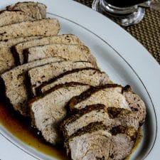 Instant Pot Balsamic Pork Roast from Kalyn's Kitchen