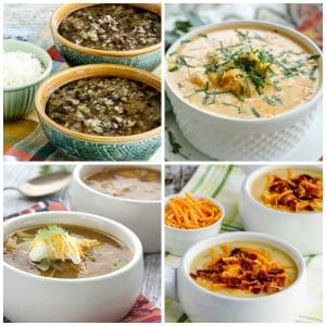50 Amazing Low-Carb Instant Pot Soup Recipes photo collage