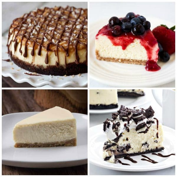 Instant Pot Cheesecake Recipes top photo collage