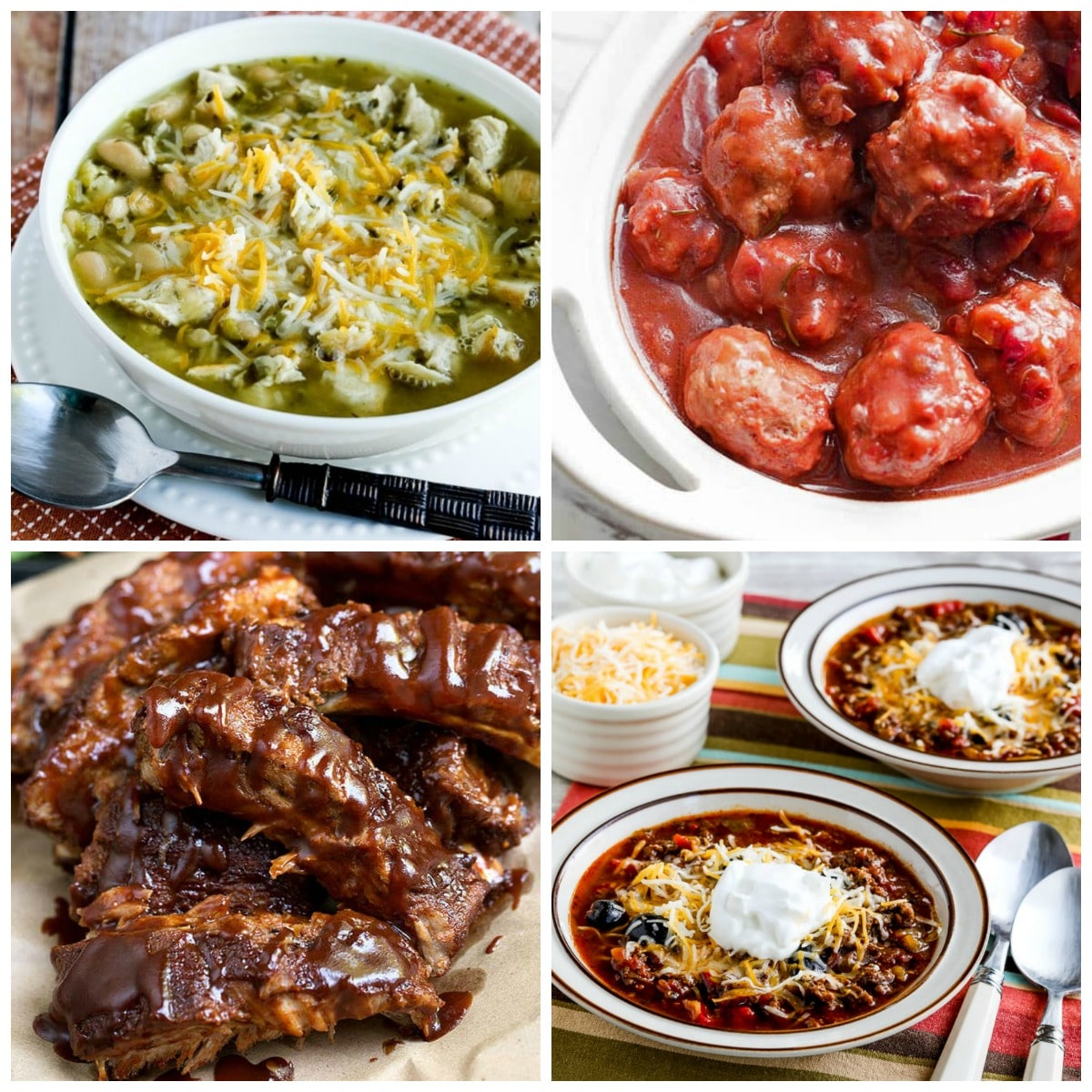 Instant Pot Game Day Food collage photo