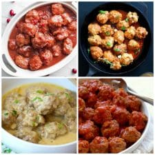 The BEST Instant Pot Recipes for Meatballs collage photo