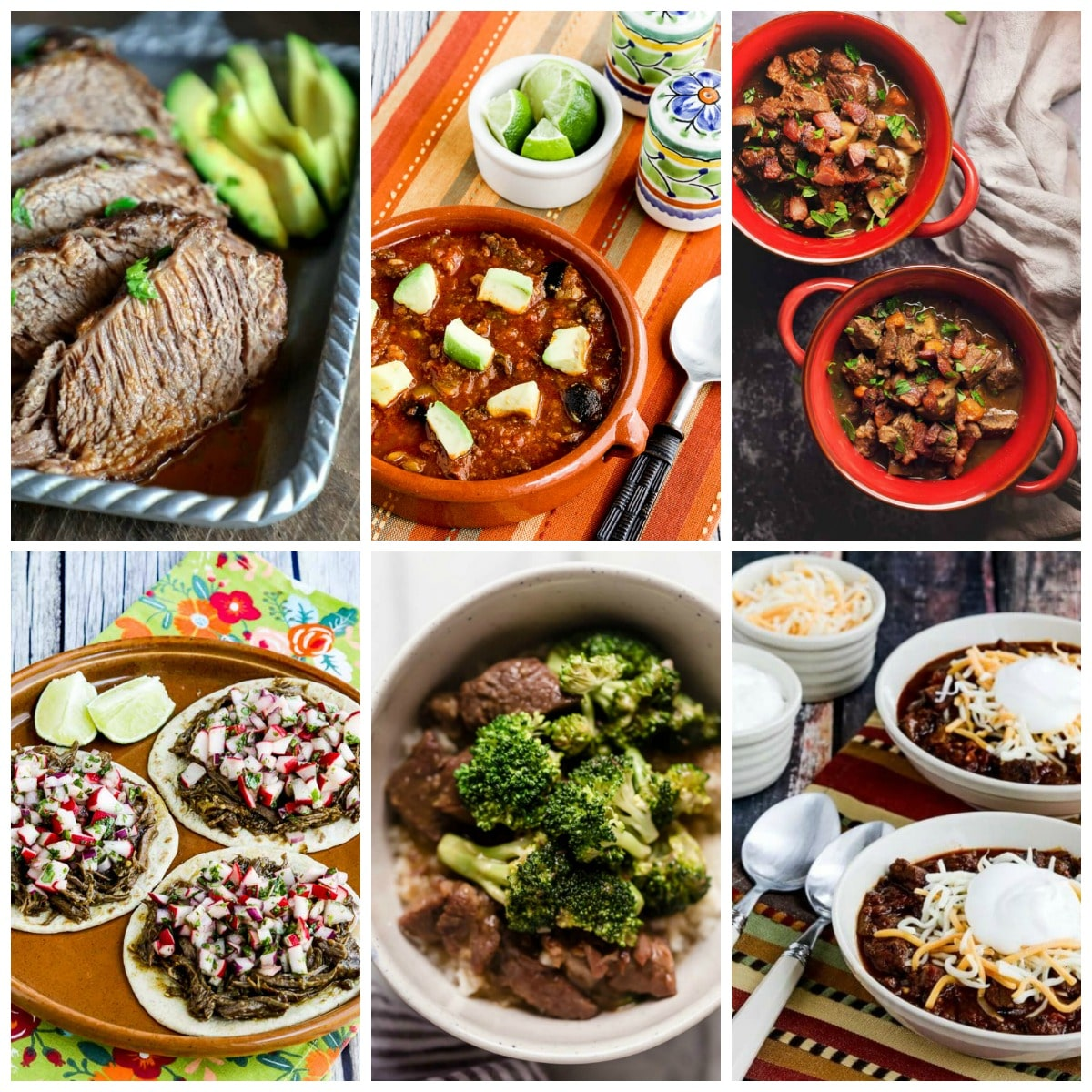 Fabulous Low-Carb Instant Pot Dinners with Beef collage photo