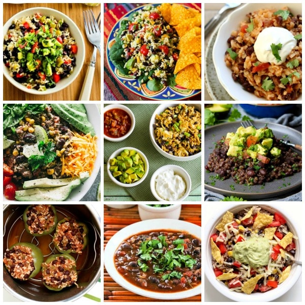 The BEST Instant Pot or Slow Cooker Black Beans and Rice Recipes found on Slow Cooker or Pressure Cooker